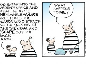 Top of the World Comic Strip by Mark Tonra